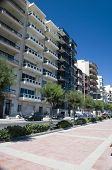 Condominiums Along Sliema Malta Waterfront
