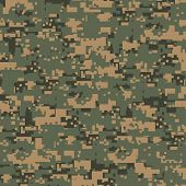 Green Digital Camouflage