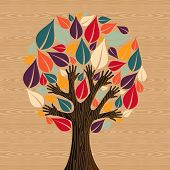 Abstract Diversity Tree Hands