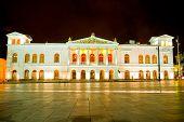 Sucre Theather historic center of Quito, Ecuador.
