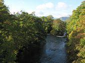 Autumnal River Greta In The Sunshine