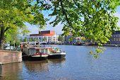 Amsterdam. Amstel River