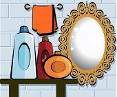 Mirror In Bathroom