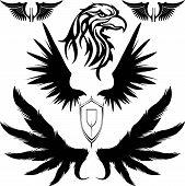 eagle wings shield