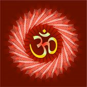 Aum Abstract Background