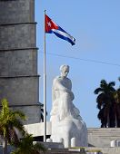 Jose Marti statue and monument in Havana