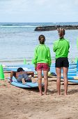 Learning to Surf, Waikiki