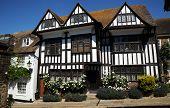Tudor village cottages. Rye West Sussex.