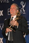 Jon Stewart in the press room at the 59th Annual Primetime Emmy Awards. The Shrine Auditorium, Los A