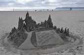 Sandcastle at Hotel del Coronado in California