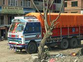 Truck In Nepal
