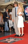 David E. Kelley and Michelle Pfeiffer  at the ceremony honoring Michelle Pfeiffer with the 2,345th star on the Hollywood Walk of Fame. Hollywood Boulevard, Hollywood, CA. 08-06-07