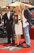Paul Rudd with Michelle Pfeiffer and Jeff Bridges at the ceremony honoring Michelle Pfeiffer with th