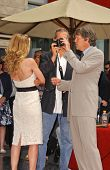 Michelle Pfeiffer with Jeff Bridges and David E. Kelley at the ceremony honoring Michelle Pfeiffer w