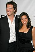 Michael Medico and America Ferrera at the 2007 Hot In Hollywood to benefit the AIDS Healthcare Found