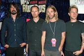 Foo Fighters arriving at the 2007 MTV Video Music Awards. The Palms Hotel And Casino, Las Vegas, NV.