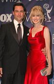 Danny Pino and Kathryn Morris in the press room at the 59th Annual Primetime Emmy Awards. The Shrine Auditorium, Los Angeles, CA. 09-16-07