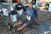 David Chokachi at The 21st Nautica Malibu Triathlon Presented By Toyota. Zuma Beach, Malibu, CA. 09-