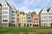 German-style Houses In Cologne