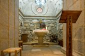 Inside Of A Baptistery Crypt