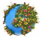 Постер, плакат: Mini Earth planet