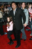 Erik Estrada and family  at the world premiere of