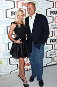 Camille Grammer and Kelsey Grammer  at the FOX Fall Eco Casino Party. Area Nightclub, Los Angeles, C