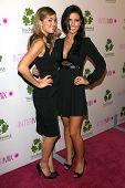 Lauren Conrad and Audrina Patridge  at the Intermix Boutique Opening. Intermix, Los Angeles, CA. 09-25-07