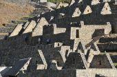 Detail of ruins of Macchu Pichu, Peru, South America