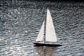 Sailer In River
