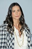 Demi Moore  at the 2007/2008 Chanel Cruise Show Presented by Karl Lagerfeld. Hanger 8, Santa Monica,