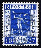Postage Stamp France 1936 Herald
