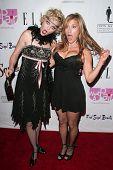 Elaine Hendrix and Lisa Ann Walter at