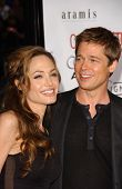 Angelina Jolie and Brad Pitt at the North American Premiere of