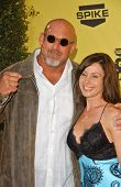 Bill Goldberg and Wanda Ferraton at Spike TV's