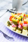 Finger Foods Toothpicks Appetizer