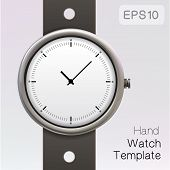 Wrist watch template.