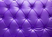 Purple Upholstery Leather As Texture And Pattern