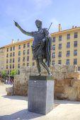 Saragossa. The Roman Emperor Caesar Augustus