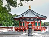 Prince Shotoku Hall at Shinsho Temple Narita Japan