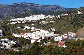White village, Archez, Spain.