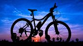 Bicycle On Twilight Time