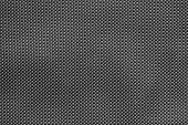 Rough Texture Of Wattled Fabric Black Color
