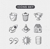 Miscellaneous symbols set.