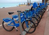City Of Nice, France - Bicycles