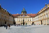 Melk Abbey interior court