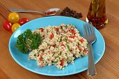 Turkish Salad With Bulgur