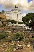 Monument Of Vittorio Emanuele And Roman Forum, Rome