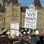 Protest of Harper's proroguing of Parliament, Ottawa