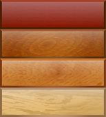 Background With Wooden Texture For Use In Advertising